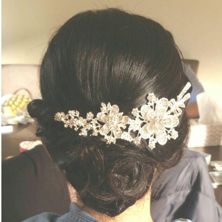 Asian Bridal Hair Updo, Bridal Hairstyle