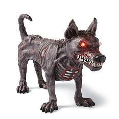 standing zombie dog halloween decorations and decor traditional holiday decorations grandin road - Zombie Halloween Decorations
