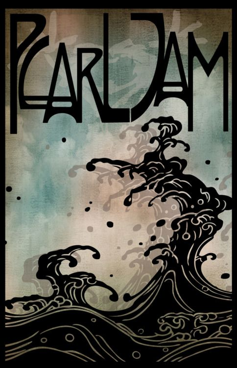 Oceans By Steve Altan-Rock Poster One of my favourite songs. Jugendstil PJ #timeless