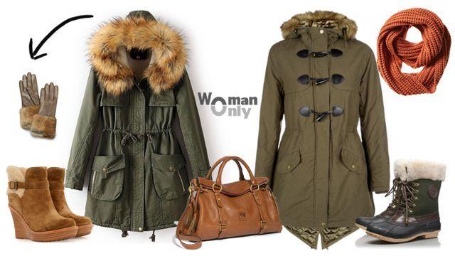 Парка женская зимняя: мода в фотографиях