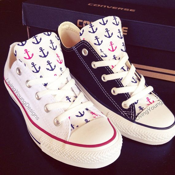 Anchors Customs Converse, if I ever have $90 just lying around for some reason...