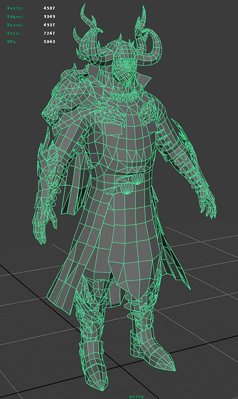 (Topology) Yet another ArenaNet Art Test Thread --- Male Character - Page 2 - Polycount Forum