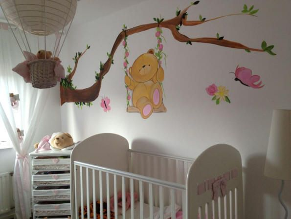 Muurschilderingen Voor Slaapkamer : ... Pin Kinderkamer Kinderkamers ...