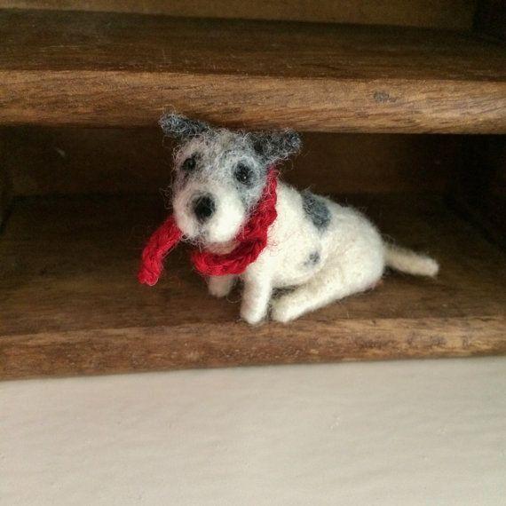 Miniature Dog Jack Russell Terrier Mirco Mini by TrimbleBerryBears