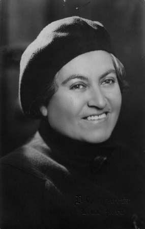 Gabriela Mistral Premio Nobel de Literatura en 1945. Escritora chilena.