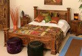 Maharaja Bed - Indian Solid Sheesham Wood Furniture | Saraf Furniture