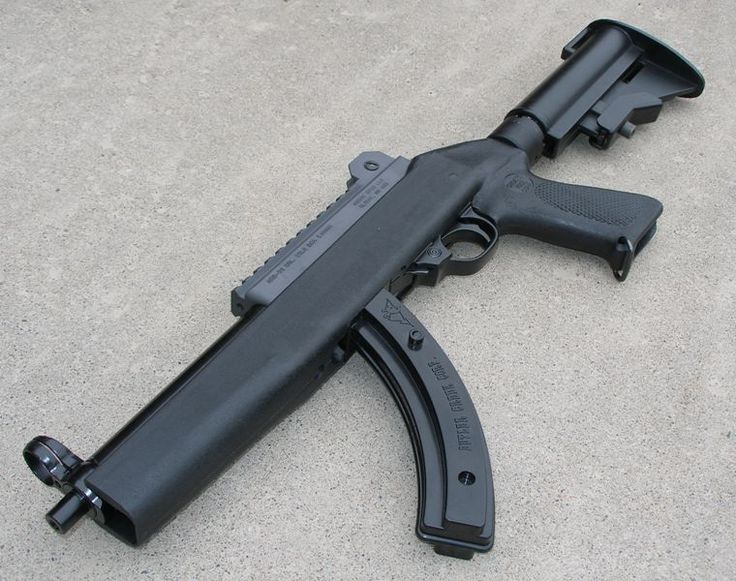 Ruger 10/22 SBR made from a Ruger Charger and a modified 10/22 stock kit.