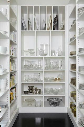 Walk in pantry :-) love the idea of being able to store dishes and appliances you don't use every day.