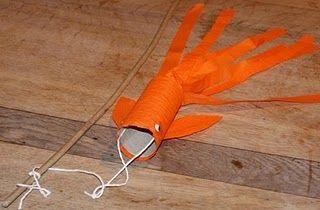 Fish Kites DIY #DIY #kids crafts