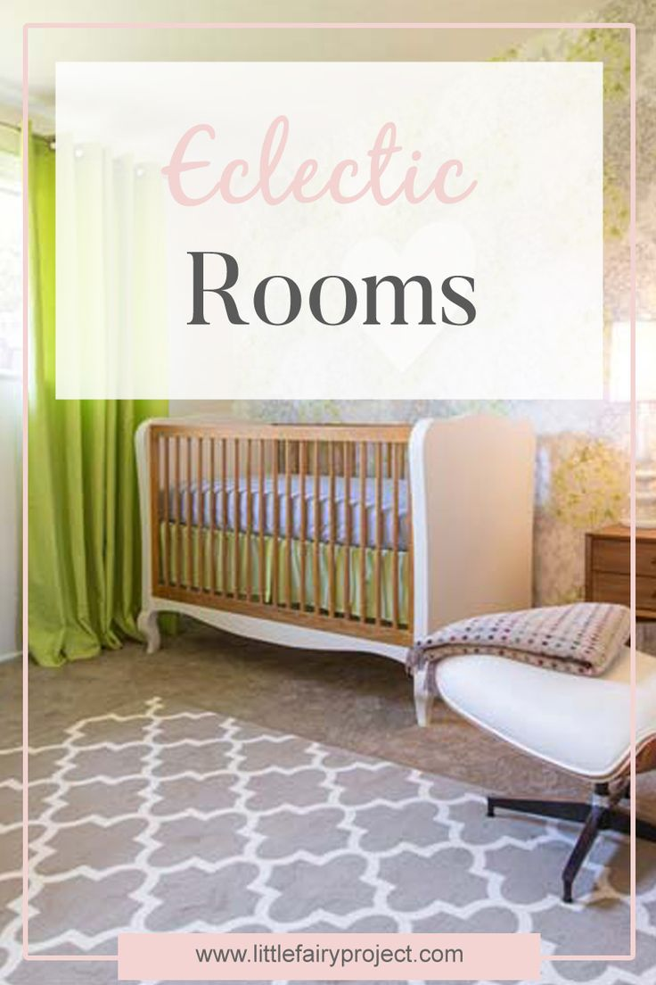 Eclectic style in kids rooms and nurseries | Kids design | Eclectic furniture and decor for kids | DIY inspiration | Tips and ideas