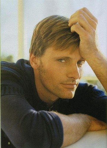 Viggo Mortensen is apparently extremely talented as more than an actor... painter, poet, musician.