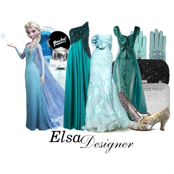 "Frozen - Elsa - ""DM nerds"" by aksmasads on Polyvore"