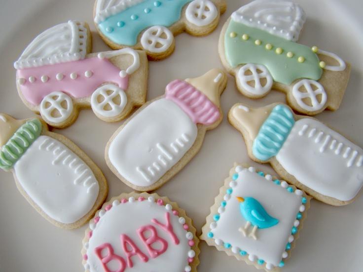 baby shower cookies sugar cookies pinterest
