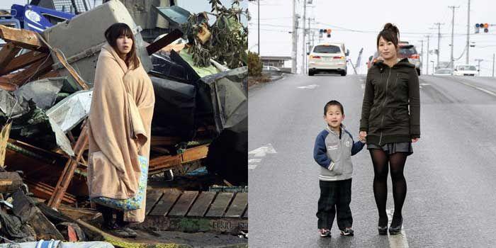Imágenes del tsunami de Japón: entonces y ahora (56 fotografías) - I    (Japan tsunami pictures: before and after)