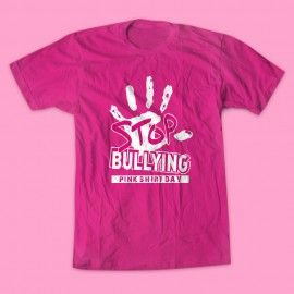 69 best Say NO To Bullying- Pink Shirt Day images on Pinterest ...