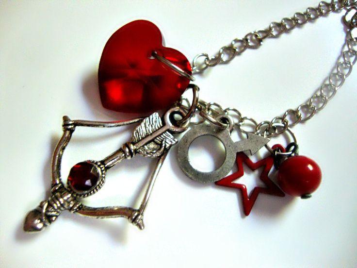 Sailor Mars Flame Sniper Necklace. $20.00, via Etsy.
