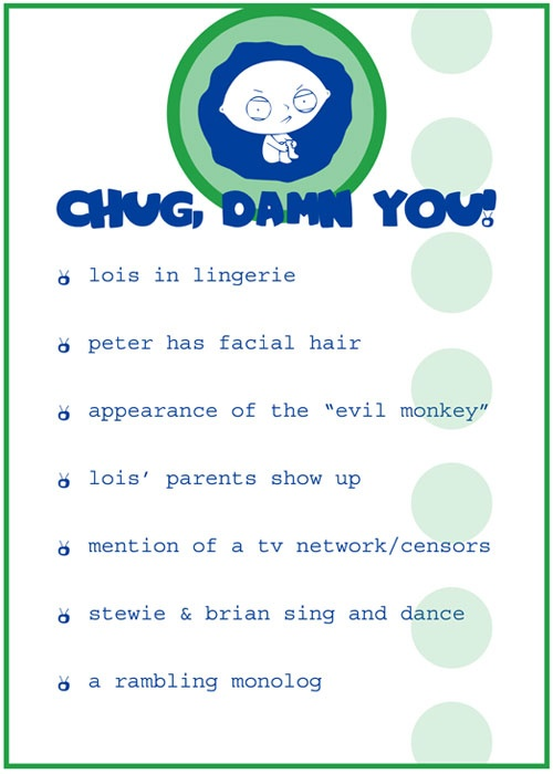 Family Guy Drinking Game #2