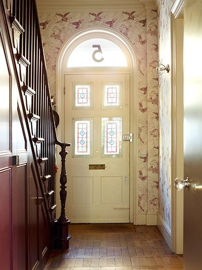 """Credit: Rachael Smith """"I don't live in the past,"""" says Guy Hills, who opens the door to his Victorian house in north London sporting plus fo..."""