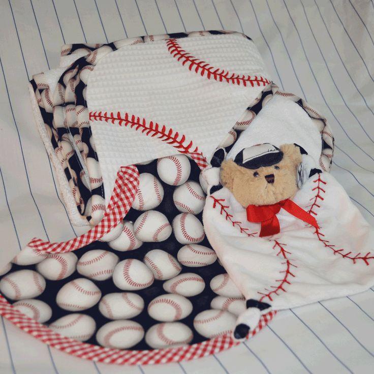 Baseball Baby Set