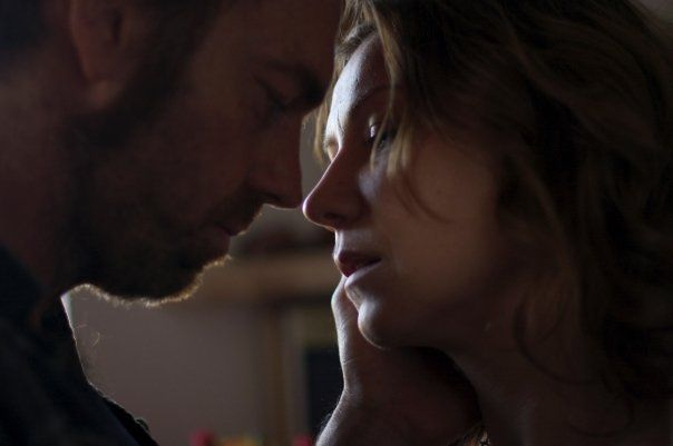 Hugo Weaving and Anita Heghe in Last Ride - very lucky woman!