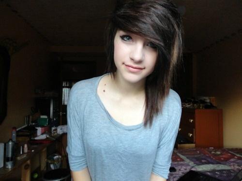 Cute Emo Girl Emo Hair Hair Swag Pinterest