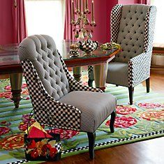 Upholstered chairs have a seat pinterest