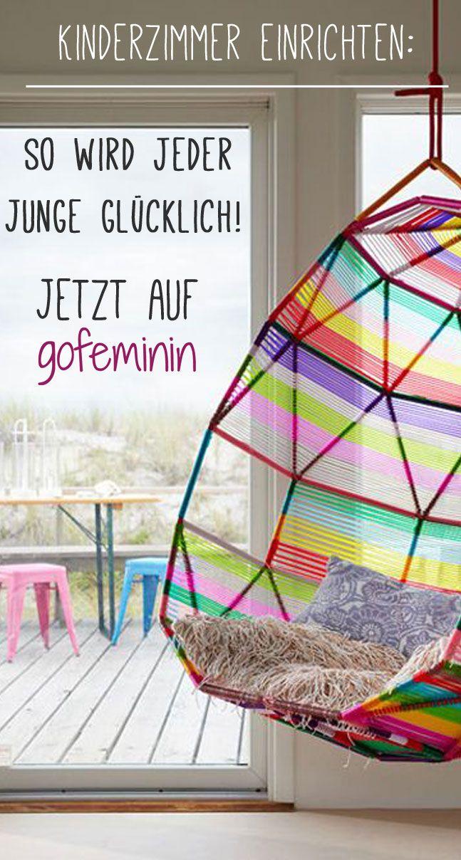 Kinderzimmer einrichten: So wird jeder Junge glücklich! Jetzt auf: http://www.gofeminin.de/wohnen/kinderzimmer-einrichten-junge-s1494456.html