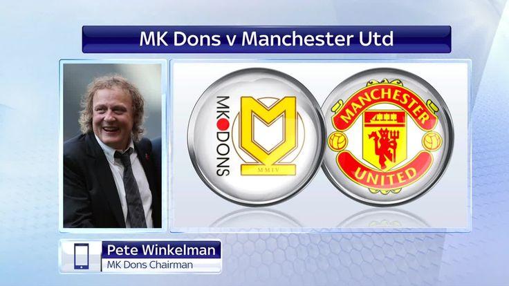 {LIVE - FREE} . Milton Keynes Dons vs  Manchester United Live Stream Onl...