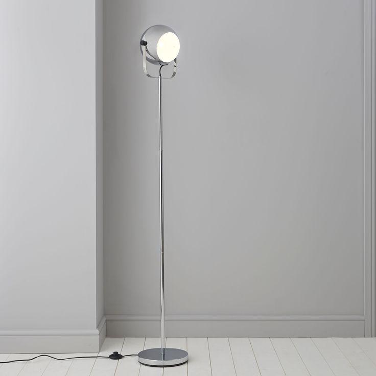 Bobo Silver Chrome Effect Floor Lamp Departments Diy