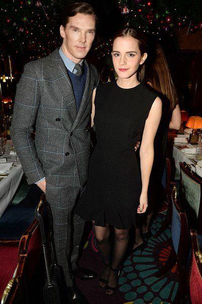 Benedict Cumberbatch and Emma Watson