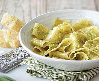 Spring Onion Pesto #Pasta