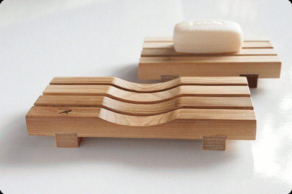 石鹸置き yue -湯坐-(L) 【表面:凹面/フラット面】