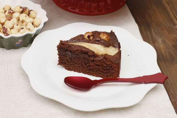 NUTELLA & PEAR CAKE - El Rincón de Bea