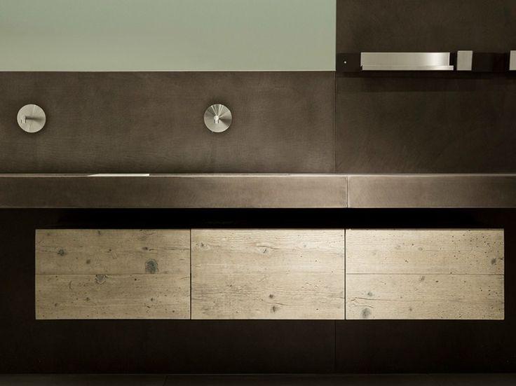 Doppel waschtischunterschrank design  Die besten 25+ Waschtischunterschrank holz Ideen auf Pinterest ...