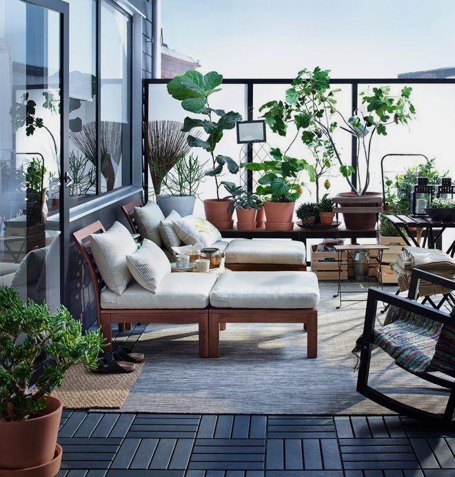 Pin De Maria Eugenia En Casa Praderas Muebles Terraza Ikea