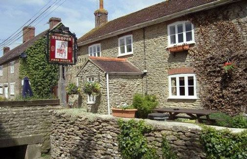 The Trooper Inn, Stourton Caundle - friendly, award-winning village pub in north Dorset.