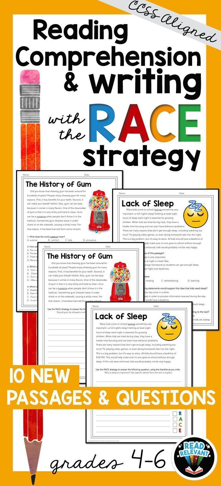 Race Writing Strategy Worksheet In 2020 Reading Comprehension Worksheets Races Writing Strategy Race Writing [ 1619 x 736 Pixel ]