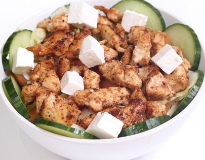 chicken bits salad