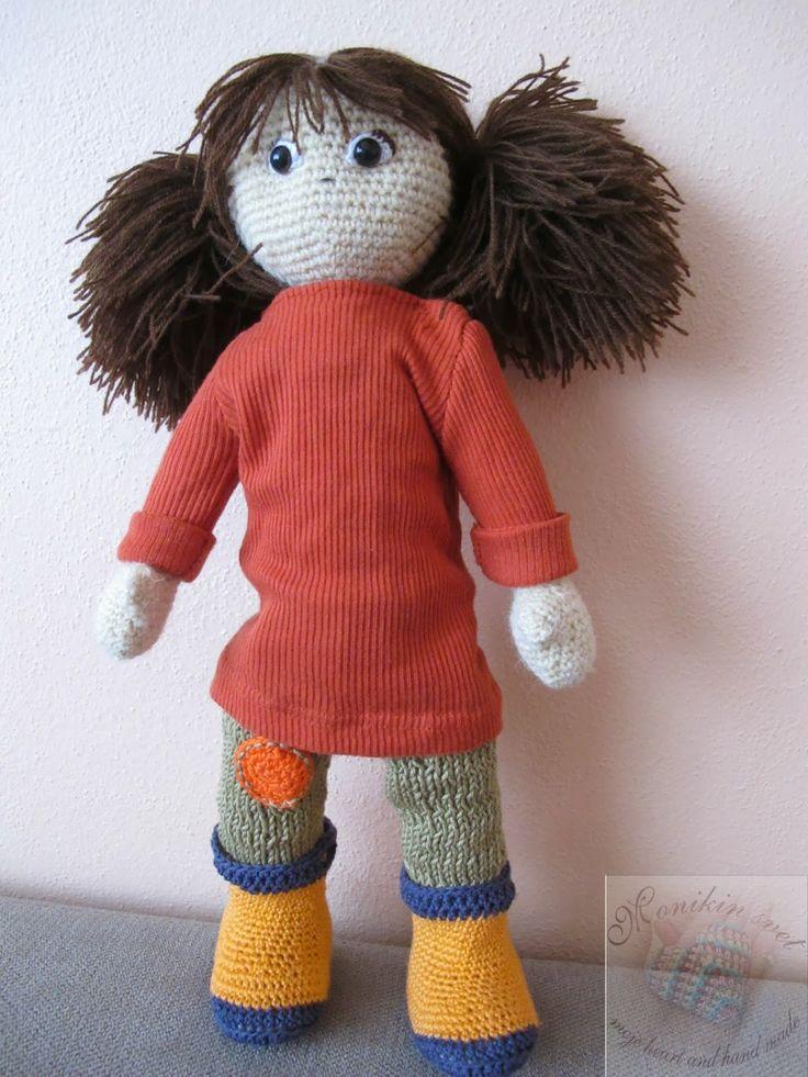 Monikin svet: Háčkovaná bábika Dora