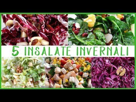 5 INSALATE INVERNALI Ricetta Facile con Frutta Verdura di Stagione FATTO IN CASA DA BENEDETTA - YouTube