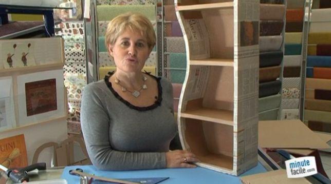 Vidéo : fabriquez un meuble en carton alvéolaire