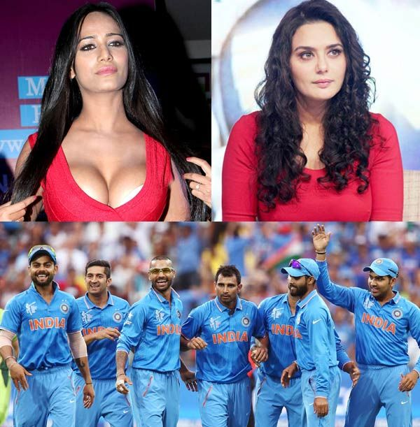 India vs Australia live: Rishi Kapoor Poonam Pandey Preity Zinta Arijit Singh wish our national cricket team good luck for their CRUCIAL match!
