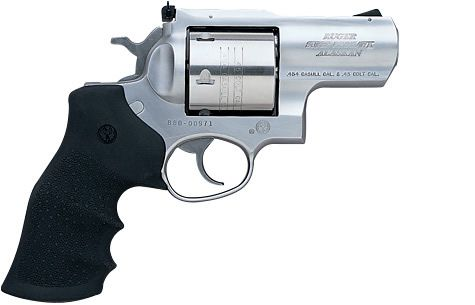 "Ruger Super Redhawk ALASKAN in .454 Casull with 2 1/2"" Barrel. Hold On!"