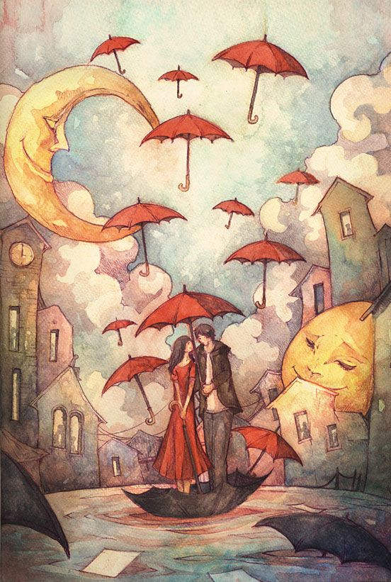 And the Hopes that Floats Around Us | Illustration Art | The Design Inspiration