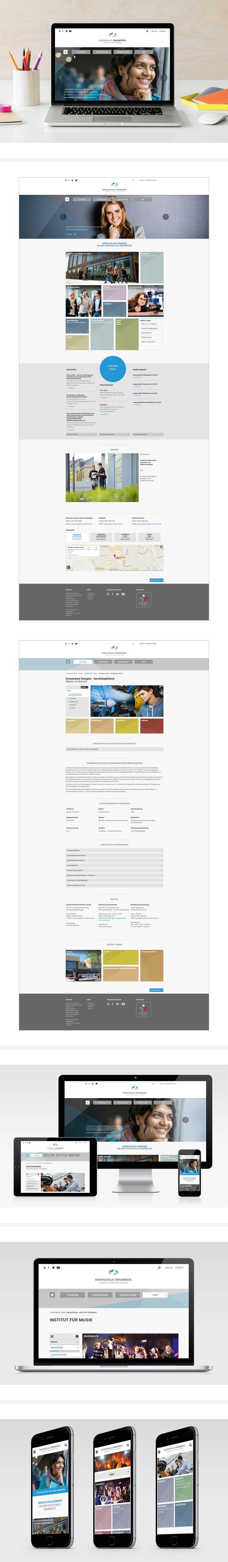 Schumacher entwickelt die neue Website der Hochschule Osnabrück. Diese soll gleichzeitig als Leitmedium und Imageträger maßgeblich die Außendarstellung der Hochschule prägen. #hsos #hochschule #osnabrück #website #webdesign #responsivewebdesign