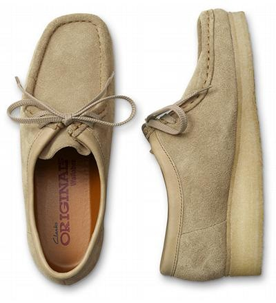 Clarks Wallabee - looks like my desert boots but a slight difference - ty wil be upset if i buy another pair!