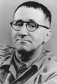 Bertolt Brecht (10 February 1898 – 14 August 1956) was a German poet, playwright, theatre director, and Marxist.