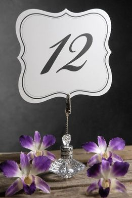 Table Numbers Double Sided |1-25
