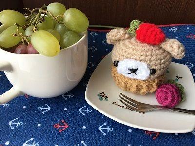 20170123 くまのカップケーキ