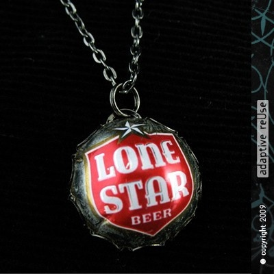 Lone Star Filigree Necklace by christineterrell on Etsy, $38.00